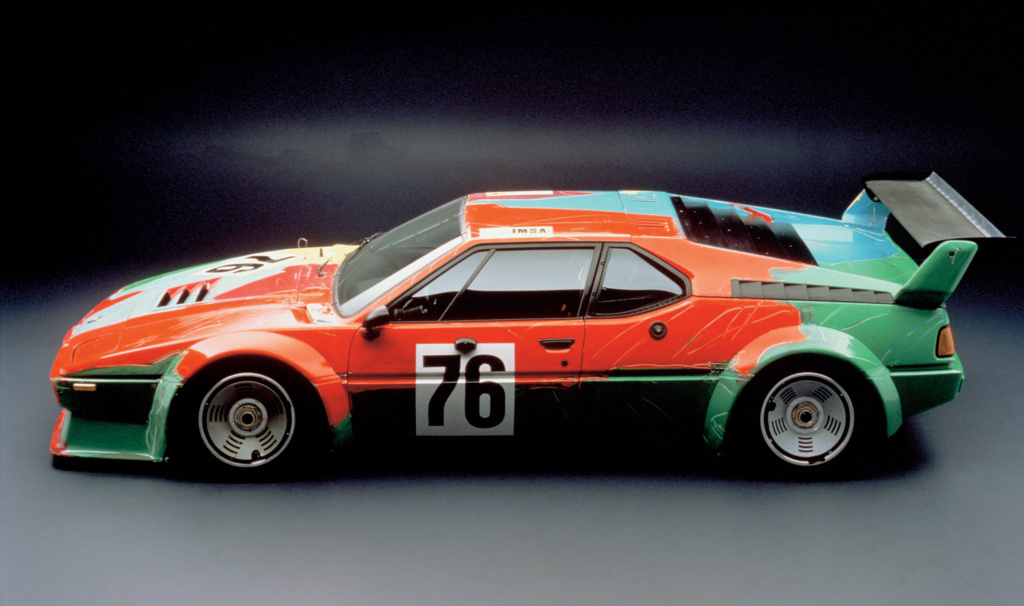 1979 BMW Art Car. Энди Уорхол. Фото BMW