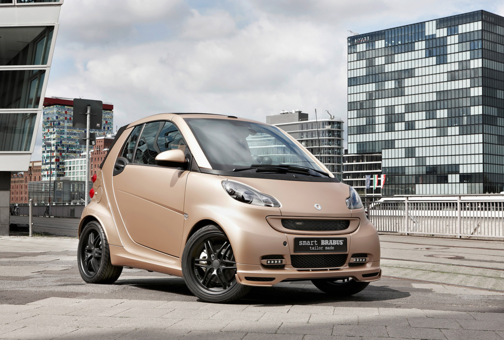 2011 Smart BRABUS tailor made by WeSC. Фото Smart
