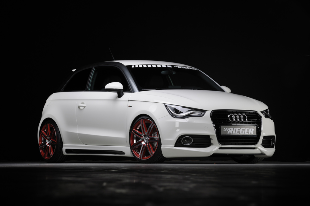 Rieger Audi A1. Фото Rieger
