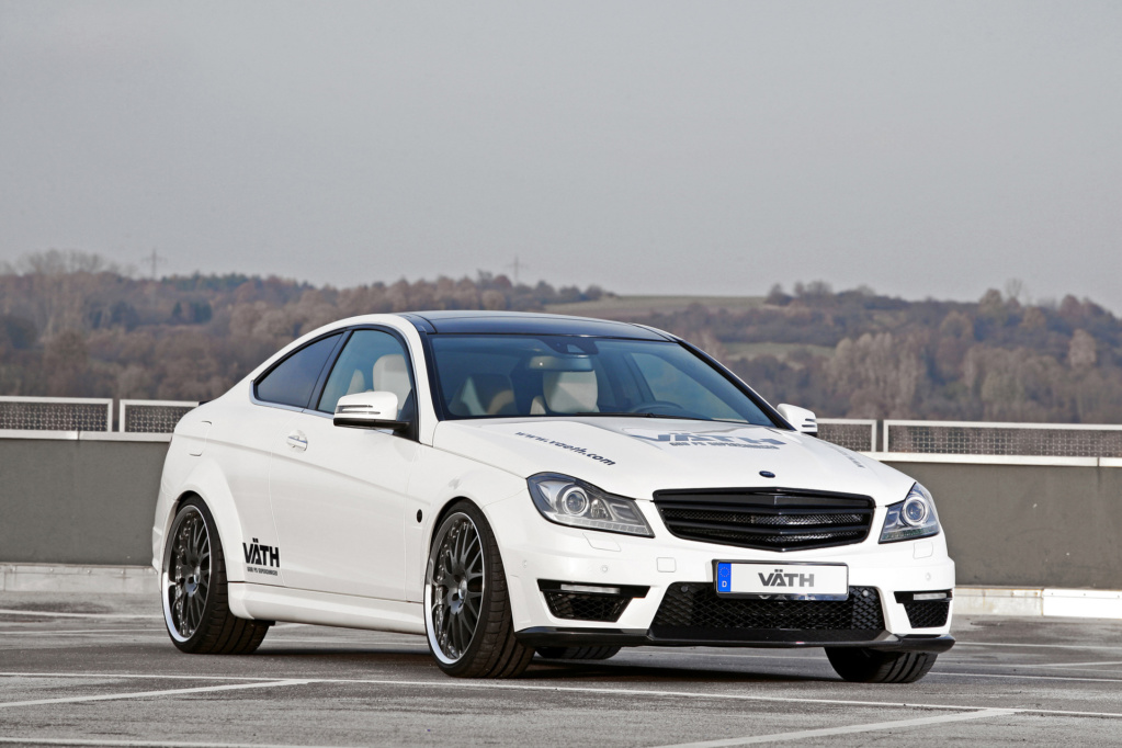 Mercedes-Benz C63 AMG — Vath V63 Supercharged