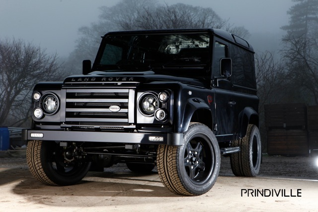 Land Rover Defender от Prindiville Design. Фото Prindiville Design