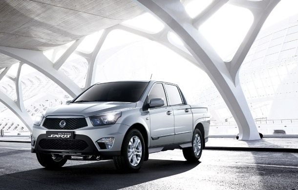 SsangYong Actyon Sports. Фото SsangYong