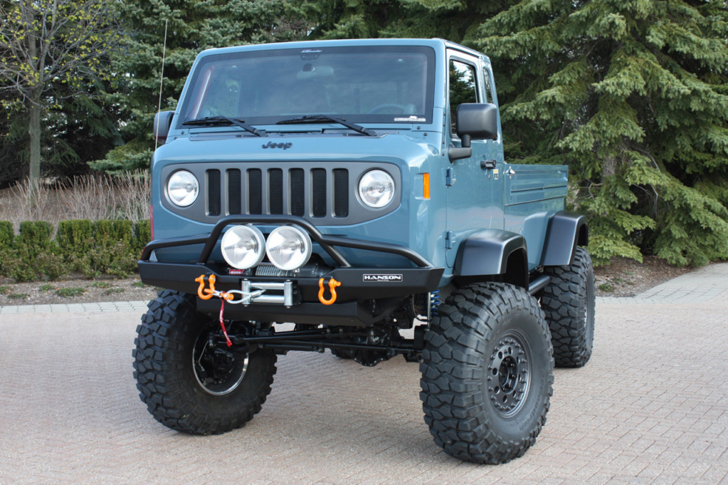 Jeep Mighty FC. Фото Jeep