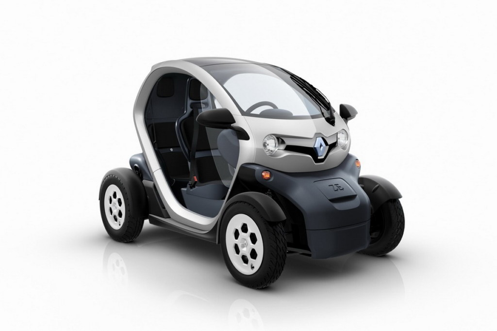 Renault Twizy 45. Фото Renault