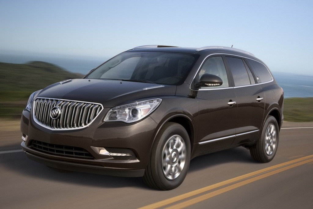 Buick Enclave. Фото Buick
