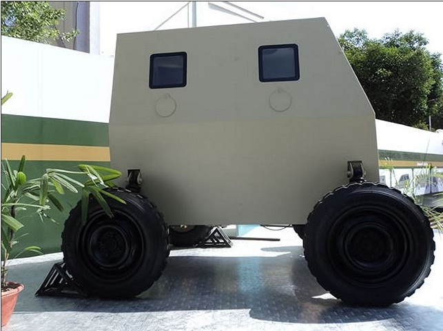 Tata Micro Bullet-Proof Vehicle. Фото  armyrecognition.com