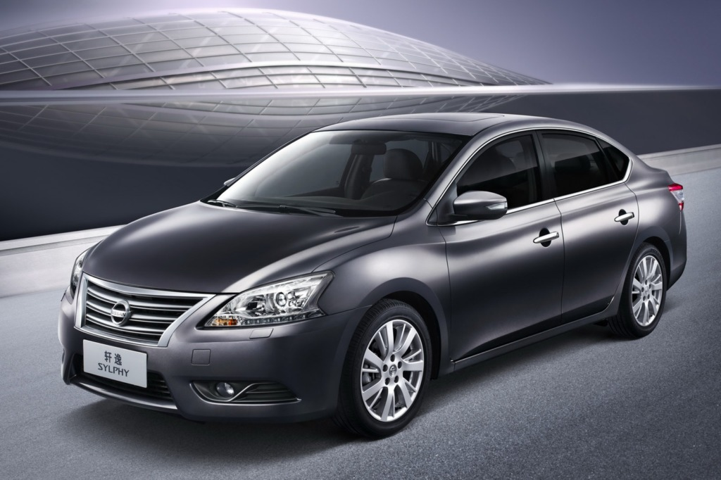 Nissan Sylphy. Фото Nissan