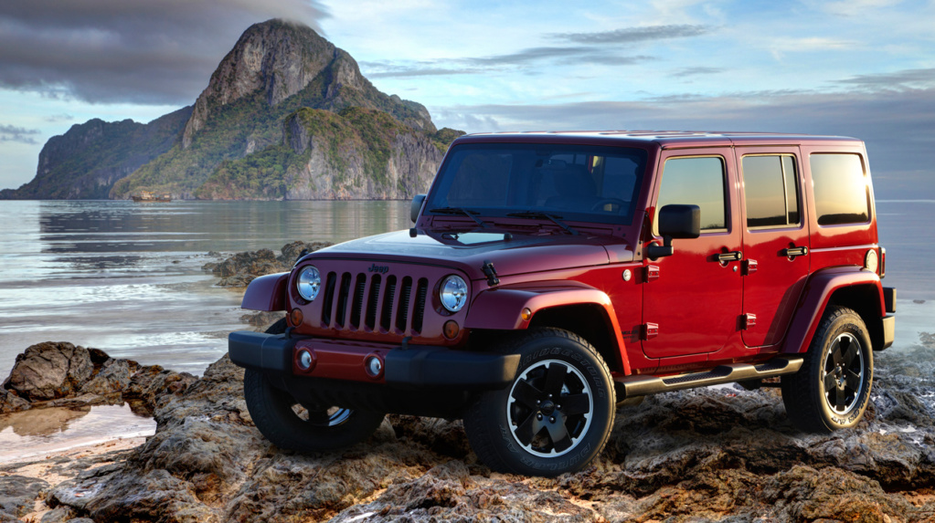 Jeep Wrangler Unlimited Altitude. Фото Jeep