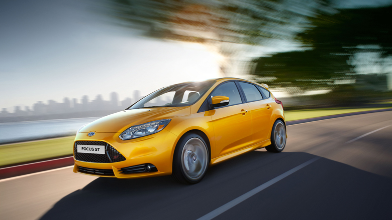 Ford Focus ST. Фото Ford