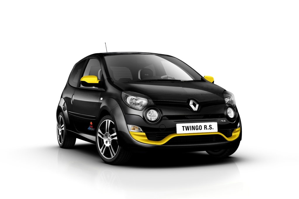 Renault Twingo RS Red Bull Racing RB7. Фото Renault