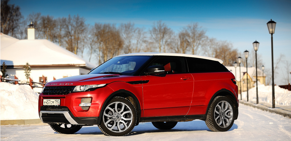 Range Rover Evoque Coupe. Фото Тимура Сабирова