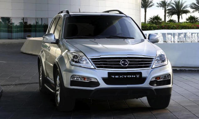 SsangYong Rexton W. Фото SsangYong