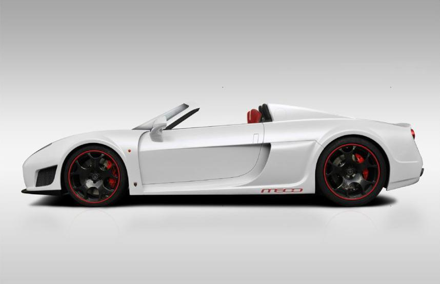 Noble M600 Roadster. Фото Noble