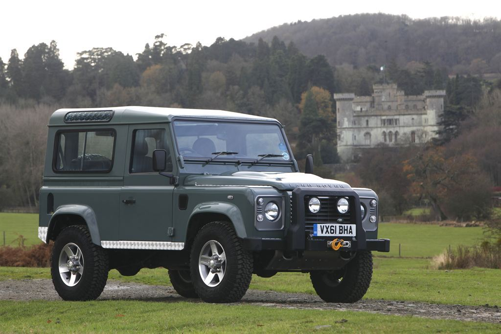 Land Rover Defender. Фото Land Rover
