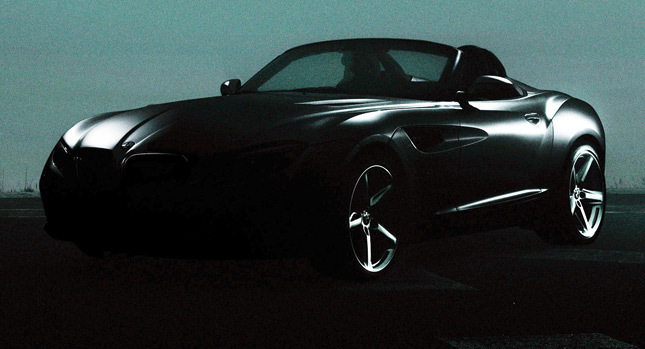 Тизер BMW Zagato Roadster. Фото BMW