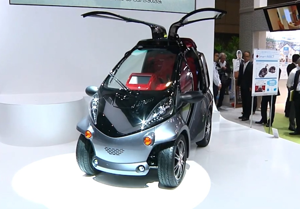Концепт Toyota Smart INSECT