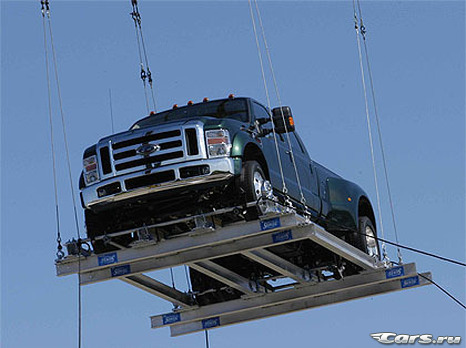 Ford F-450 Super Duty: вес взят!