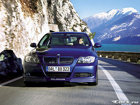 Было: BMW 335i. Стало: [Alpina B3 Bi-Turbo]
