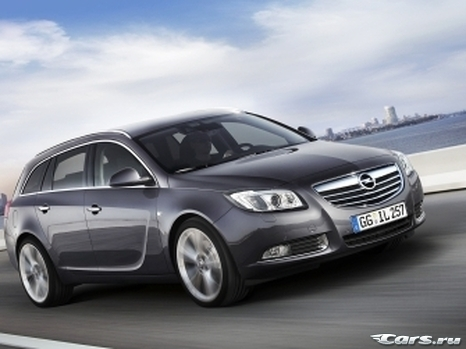 Opel Insignia Sports Tourer готов к премьере