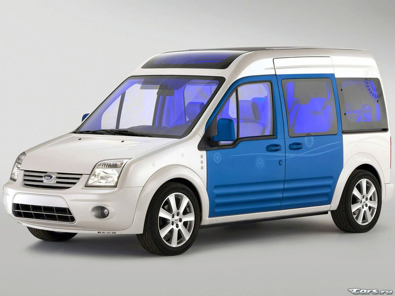 Ford Transit Connect Family One - детское счастье