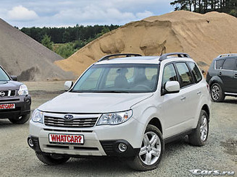Citroen C-Crosser vs Nissan X-Trail vs Subaru Forester