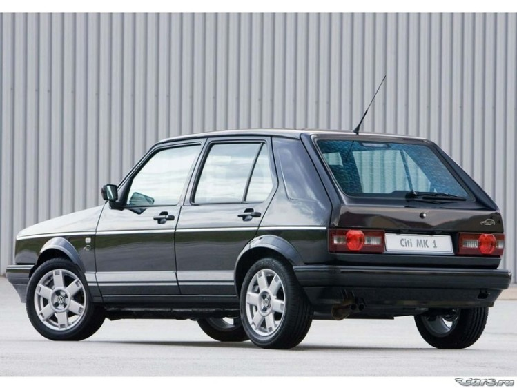 Volkswagen Citi Golf MkI Limited Edition