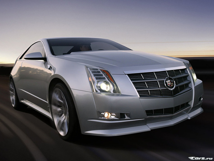 Cadillac CTS Coupe Concept  2008 г.