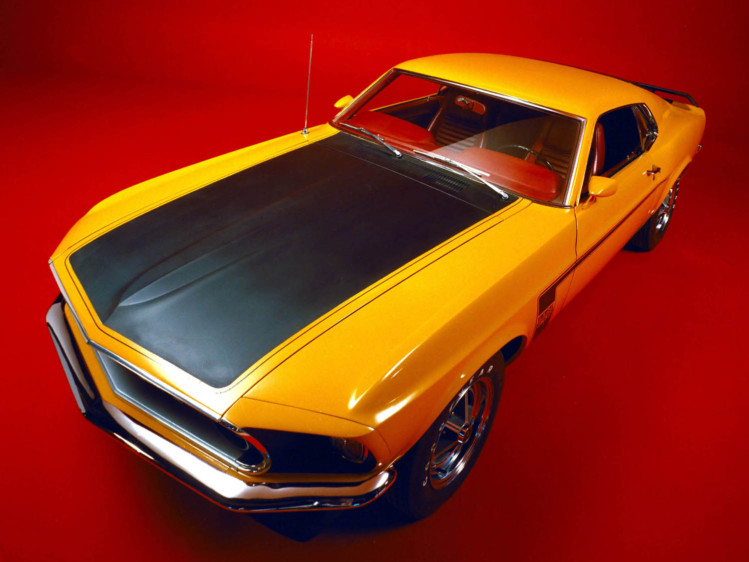 Ford Mustang Boss 302 1969 г.