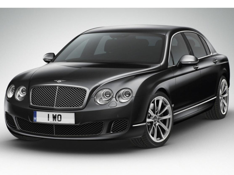 Bentley Continental Flying Spur Speed Arabia