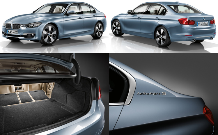 2012 BMW 3 Series ActiveHybrid