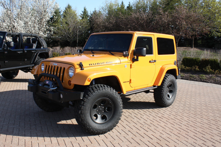 Mopar Accessorized Jeep Wrangler