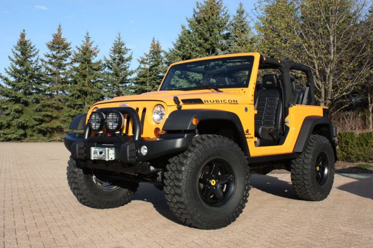 Jeep Wrangler Traildozer
