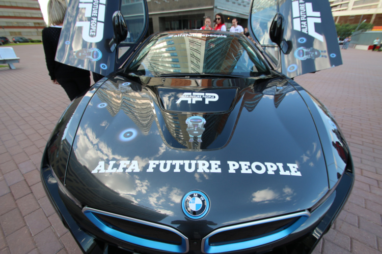 Автозона на фестивале музыки и технологий Alfa Future People