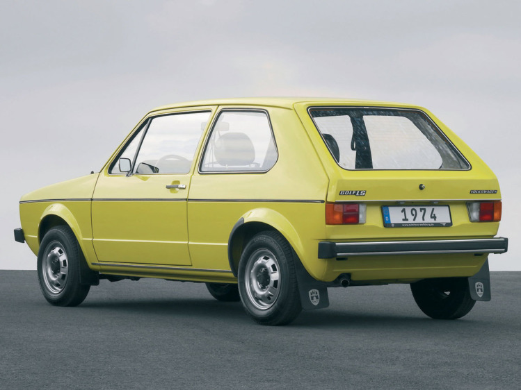 Volkswagen Golf 1974 г.