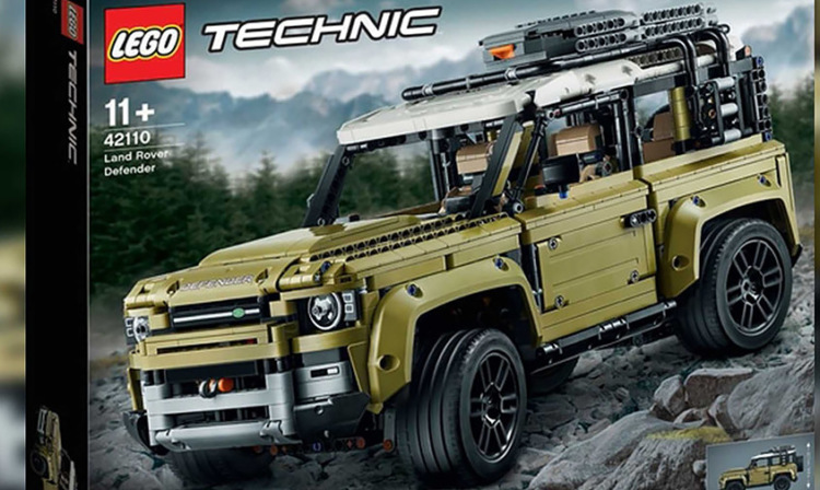 В Lego случайно проговорились о дизайне нового Land Rover Defender